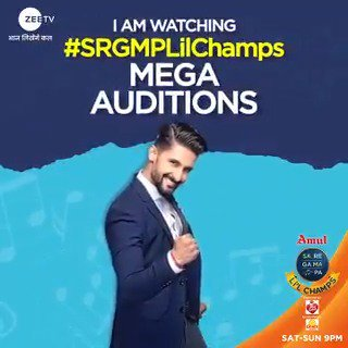 Our host and dost @_ravidubey promises you lots of fun, masti and killer performances this weekend! Don't miss the Mega Auditions of #SRGMPLilChamps, Sat–Sun, 9 PM.   #MusicSeBadhengeHum