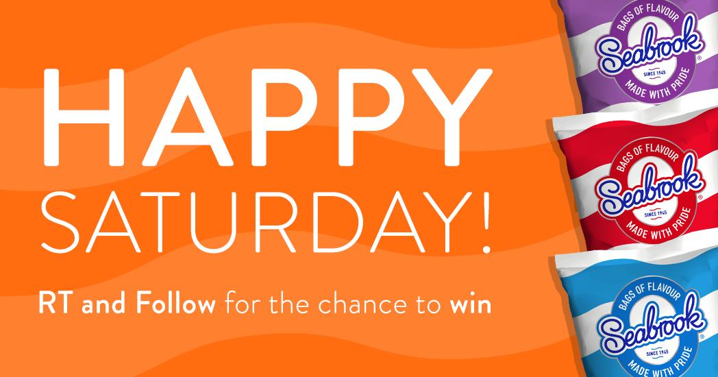 Happy Saturday! #RT & Follow for the chance to #win a box of crisps!  (UK Only)