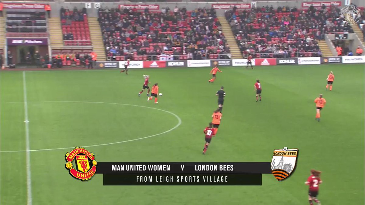 Hoping for similar scenes to our last meeting with London Bees on Sunday! ❤️ #MUWomen
