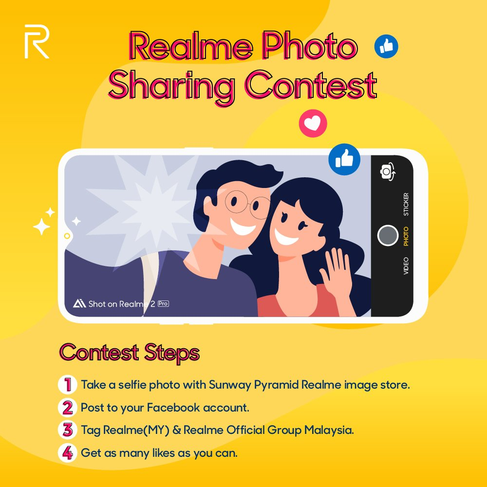 509a76df9bb149 The photo with the most likes will win, so make sure to share and invite  your friends to join the fun!!!! #RealmeMalaysia  #RealmeSquadpic.twitter.com/ ...