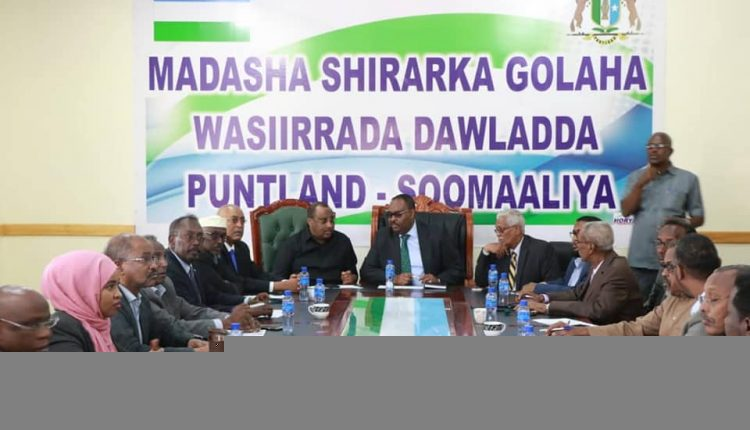 #Puntland lawmakers jointly approved president Den's newly appointed cabinet ministers. In his speech, Deni stressed that his govt will allocate a separate fund for regaining efforts of held territories of #Sool & parts of #Sanaag regions in the hands of #Somaliland. #Tukarak
