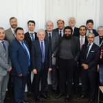 Image for the Tweet beginning: Religious leaders, diplomats and civil