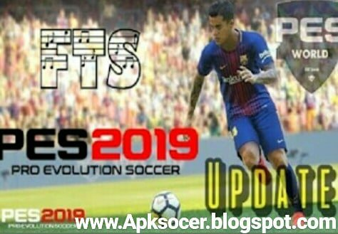 Download FTS 19 MOD PES 2019 FULL HD GRAPHIC APK + DATA OBB