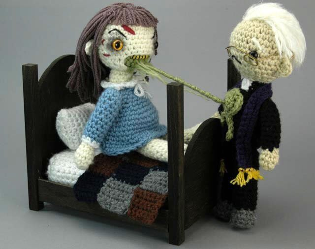 you're mother crochets socks in Hell!