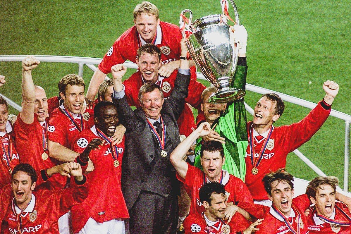 🔴 @ManUtd will commemorate the 20 year anniversary of their UCL final win over @FCBayern with a legends match in May.  👔 The club have confirmed Sir Alex Ferguson will manage a @ManUtd legends team.  👏 Amazing to see him back on the touchline.