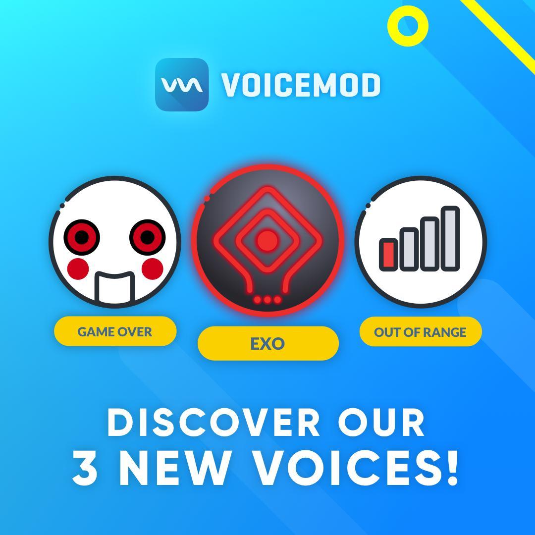 Voicemod Custom Voices