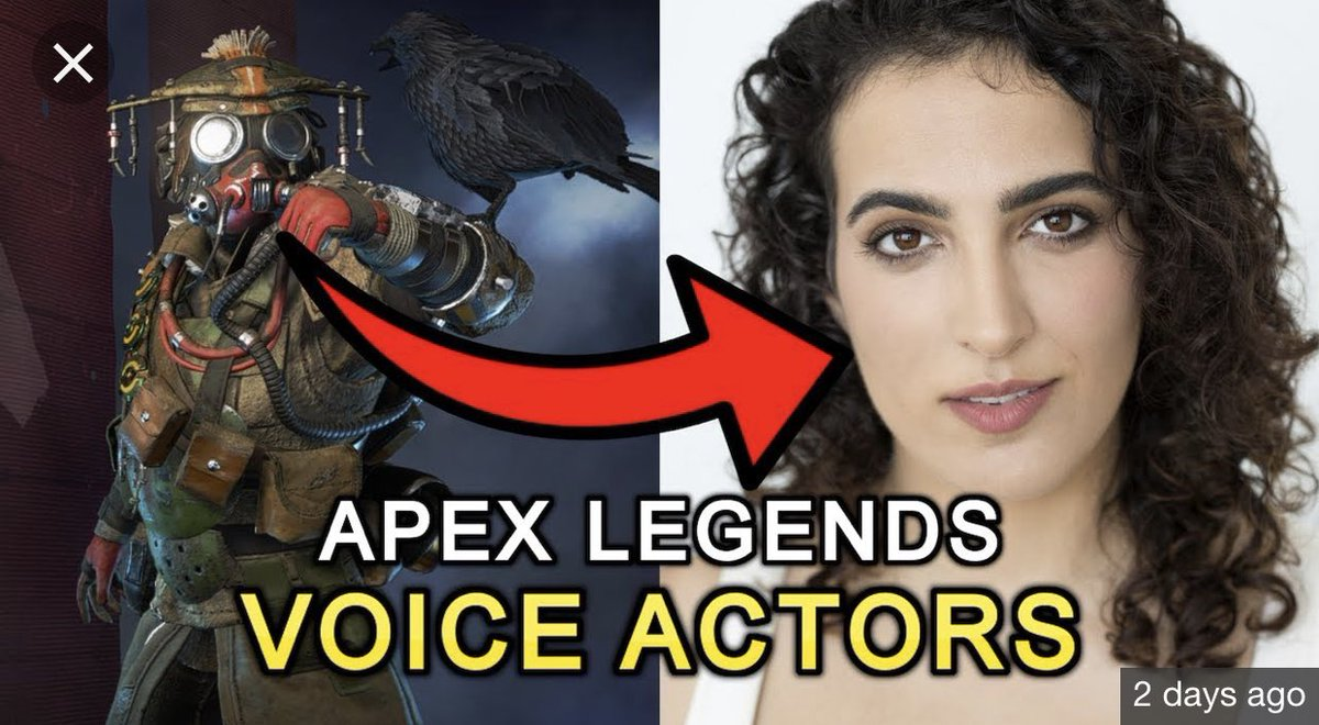 I just found out my Apex Legends main Bloodhound is voiced by a woman.   i am  S H O O K <br>http://pic.twitter.com/YnddBmnSIP