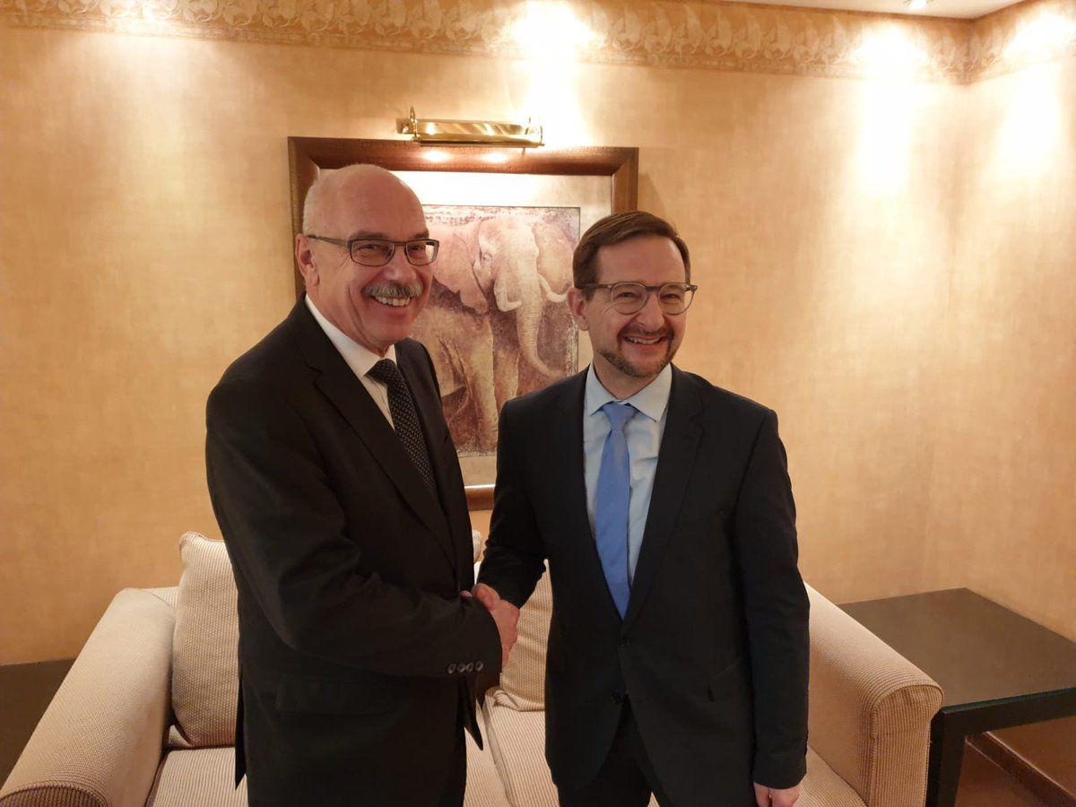 Strengthening collaboration with @UN_OCT on border security & management and implementing joint projects - including to prevent #extremism, countering #terrorismfinancing - were the focus of discussion w/ @UN_OCT USG #Voronkov