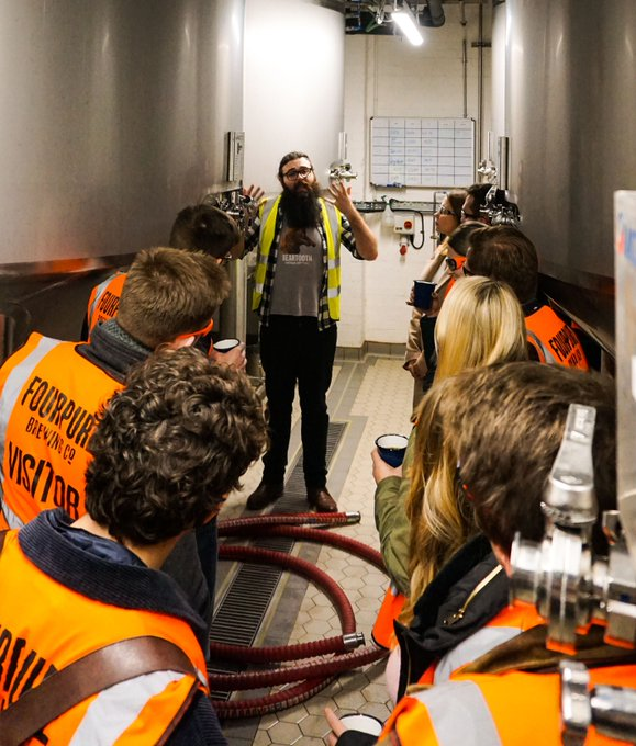 Image for Got a yearnin for learnin?  Sign up to one of our #brewerytours and learn about the most interesting subject of all: Beer ???? Tours include a guided tasting through 6 of our glorious beers. Not bad a lesson indeed! https://t.co/iqx3FHhEaq https://t.co/fp