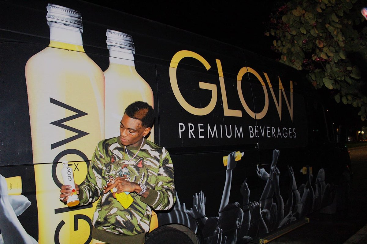 Shout out to @souljaboy!! #drinkglow #glowfromtheinsideout #weekendvibes