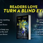 Image for the Tweet beginning: Readers love #TurnABlindEye by @VickyNewham.