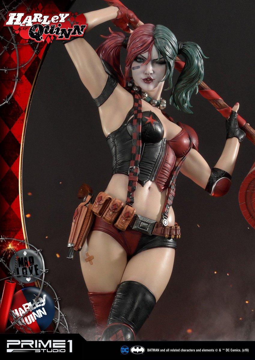 Directamente de las páginas de los cómics de DC, la compañía Prime 1 Studio nos presenta la figura que le dedican a Harley Quinn dentro de la colección  Museum Masterline Batman.  Más información: http://bit.ly/Harley-Quinn-Prime-1-Studio…  #Prime1Studio #HarleyQuinn #DC #DCComics #Joker