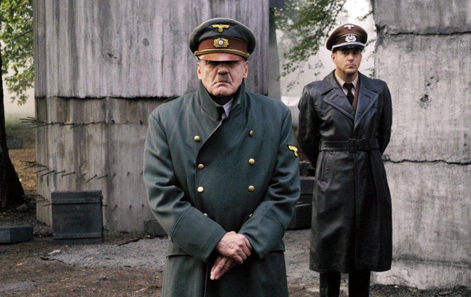 "RIP actor Bruno Ganz (77), his portrayal of Adolf Hitler in the film ""Der Untergang"" (2004) was phenomenal. #WW2"