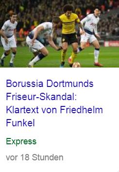 Skandal erscheint mir zurückhaltend. Ich werde es gleich Friseur-Armageddon nennen. #BVB