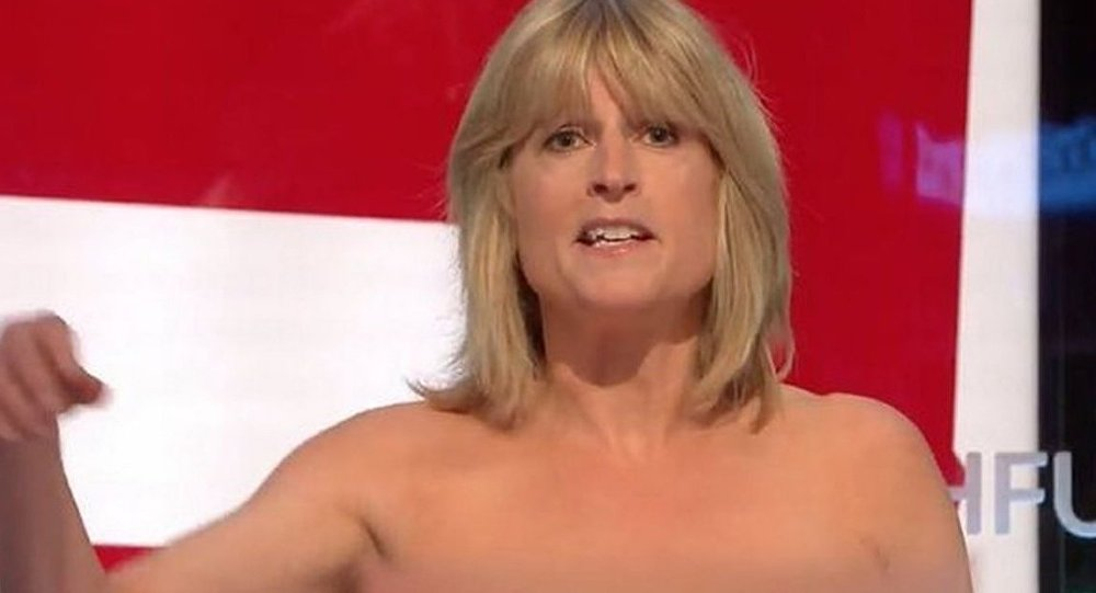 'Strip act' in aid of #Brexit by @BorisJohnson's sister on TV ignites Twitter https://t.co/ULiKE5mEzp