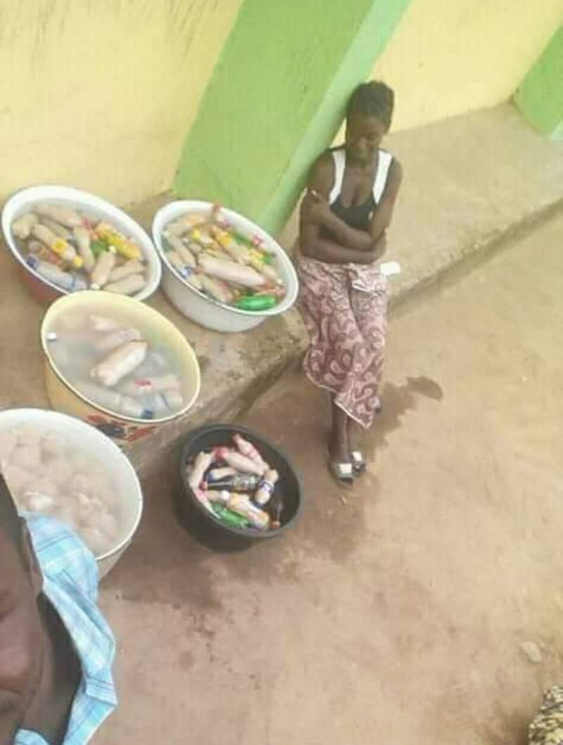 She probably used all her dole to invest and make Kunu for the elections but this rubbish government don't care. Man, this shii is frustrating af. Anyways, keep your head up.  . .  #NigeriaDecides2019