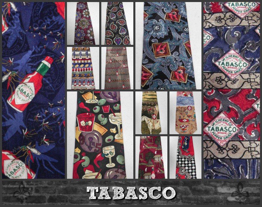 TABASCO Ties - Wearable Art http://tinyurl.com/yca74e48 @eBay #mensfashion #clothing #fashion #menstyle