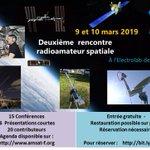 Image for the Tweet beginning: Deuxième rencontre spatiale radioamateur 9