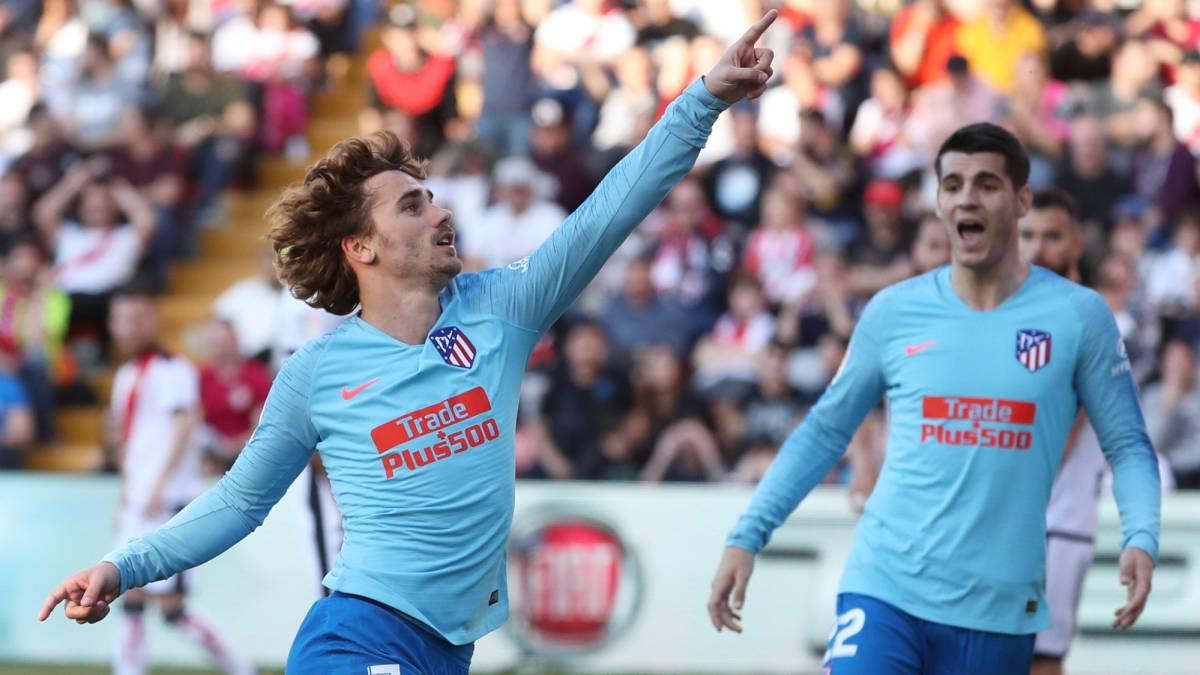 #LaLiga Fecha 24   FINAL  Rayo Vallecano 0-1 At. Madrid