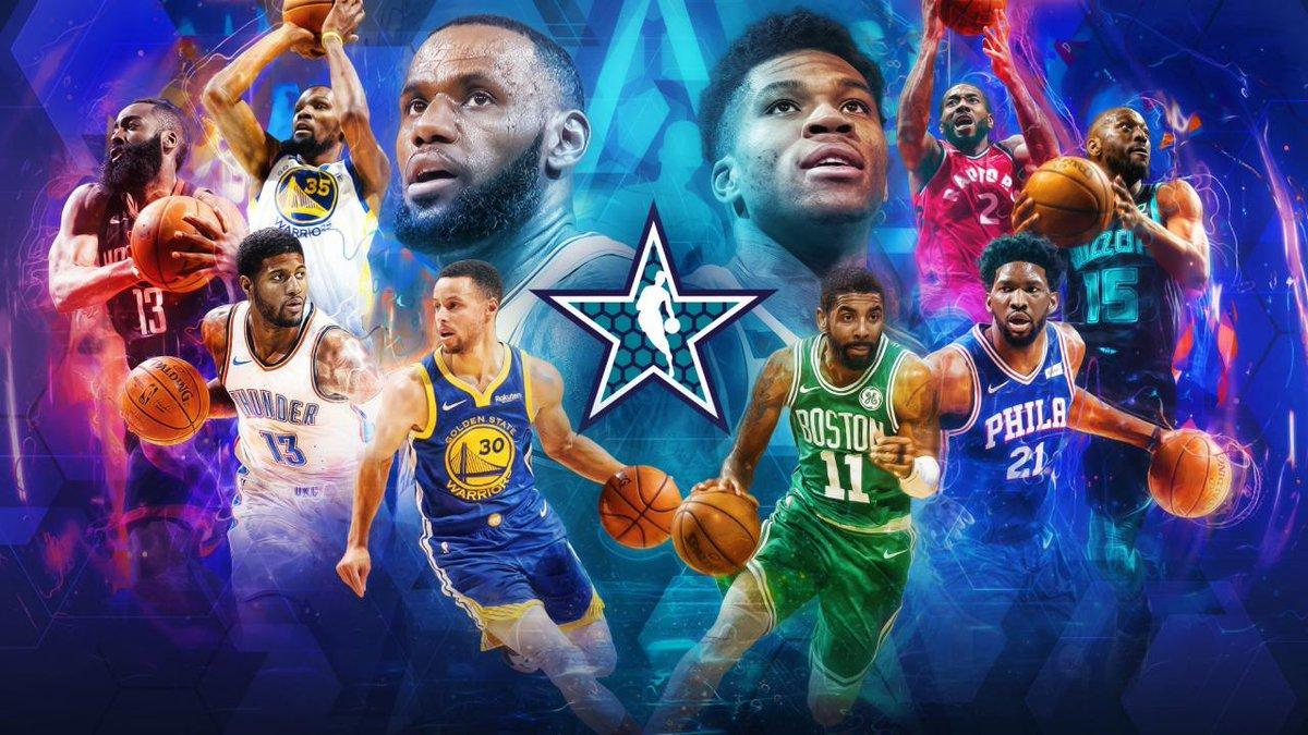 #NBA | ¡Se viene el juego de las estrellas! 🏀✨  El partido enfrentará a Lebron James junto a Anthony Davis, Durant, Irving y Westbrook entre otros, contra el de Curry, que contará con Antetokounmpo, DeRozan, Harden y Thompson entre sus líneas. 🙌🔝  ¿Qué equipo te gusta más?