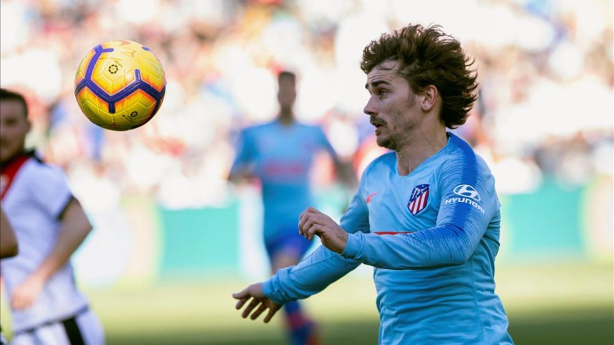 #LaLiga 🏆 | #RayoAtleti ⚽  Griezmann marcó el único gol en una jugada afortunada y polémica 🤙🔥 http://bit.ly/2IhaAlF