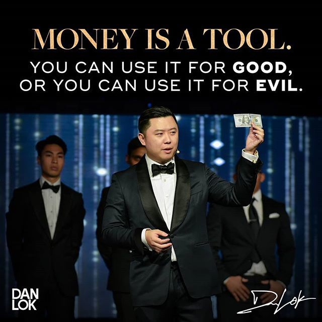 Most people think money changes you. They think it's evil. They think it corrupts you. . Yes, that's true. . But only if you are corrupt to begin with. . You see, money doesn't actually change people. It only amplifies who you already are. . If someone i… https://www.instagram.com/p/Bt8zxkPh0eT/