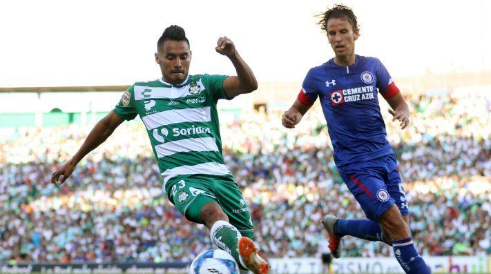 Santos Laguna venció 2-1 al Cruz Azul 2019