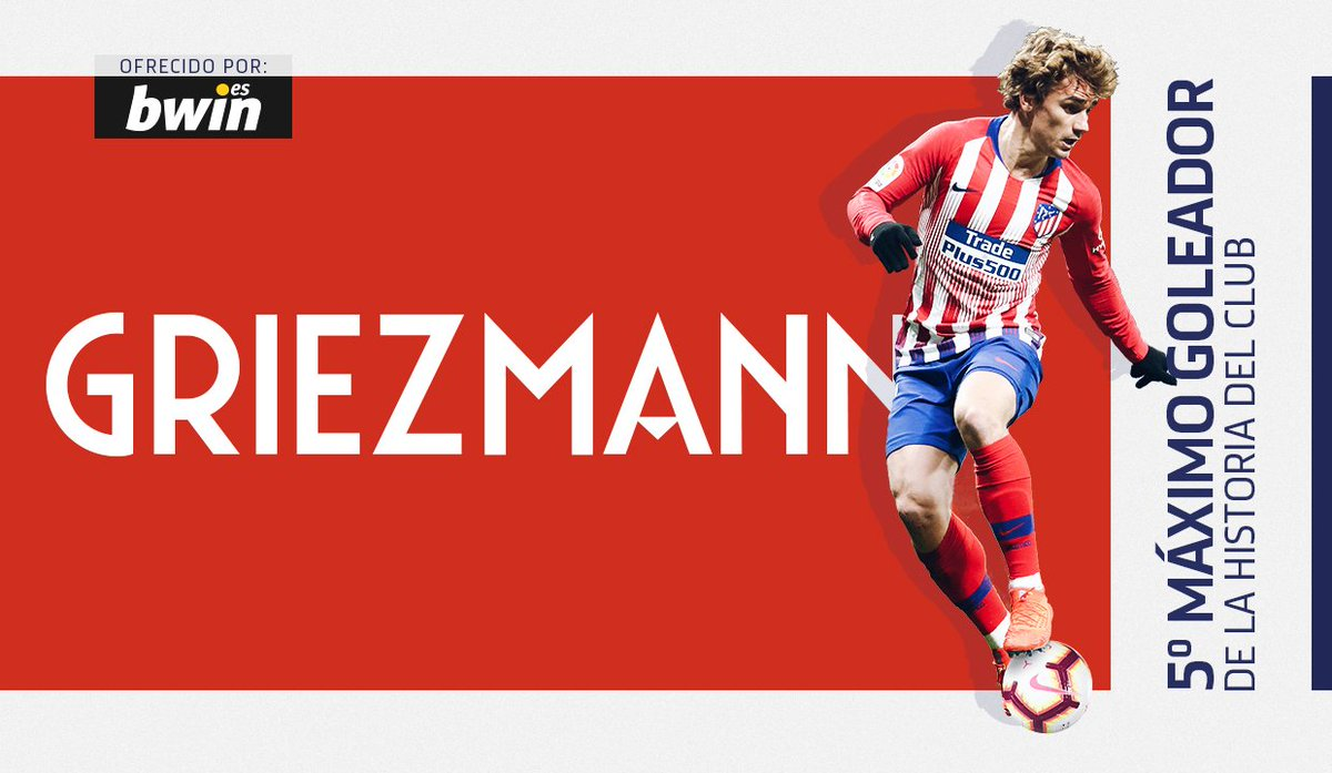 Atlético de Madrid's photo on Griezmann