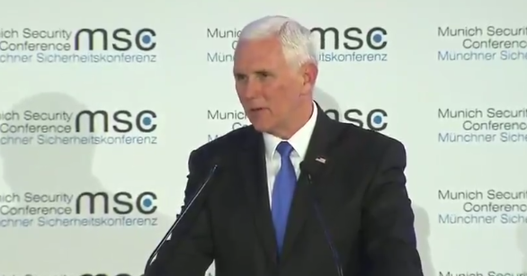 """Pence Met With Stony Silence At International Meeting After Delivering """"Greetings From President Trump"""" - https://is.gd/BJjSCO"""