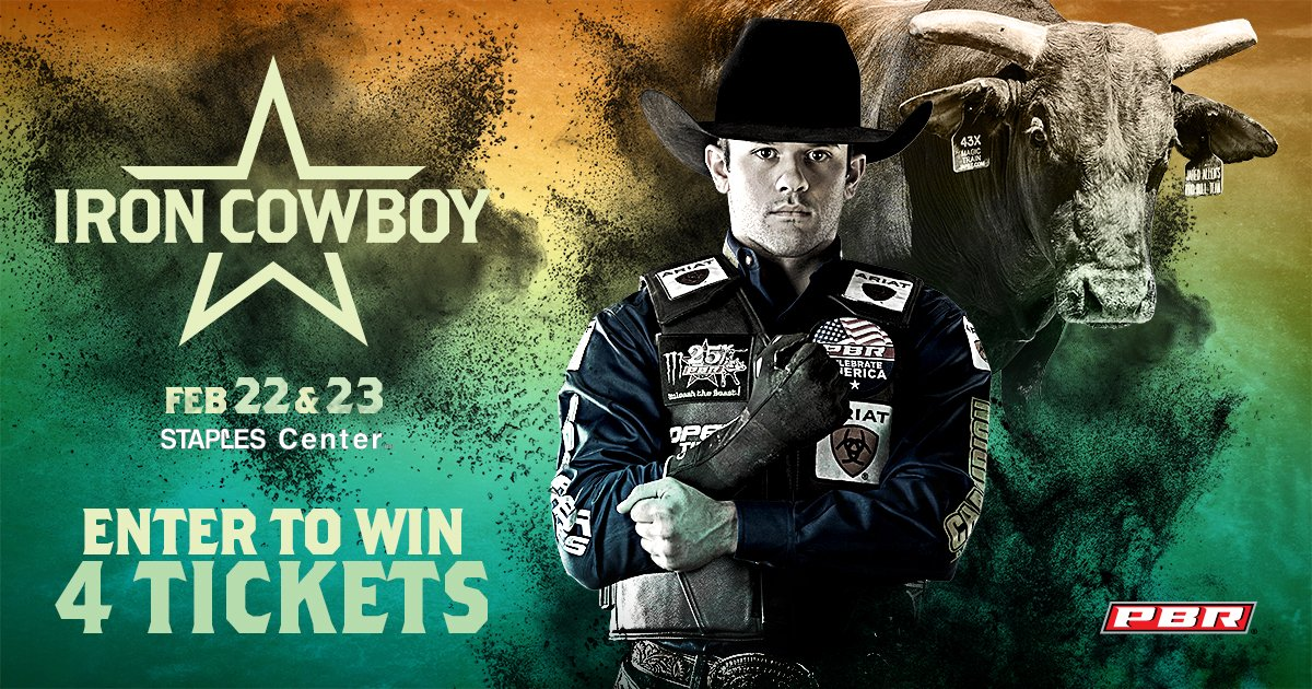Enter now for your chance to win four tickets to both nights of @PBR Iron Cowboy at STAPLES Center on February 22 & 23!  https://t.co/ytY8Hurvn4