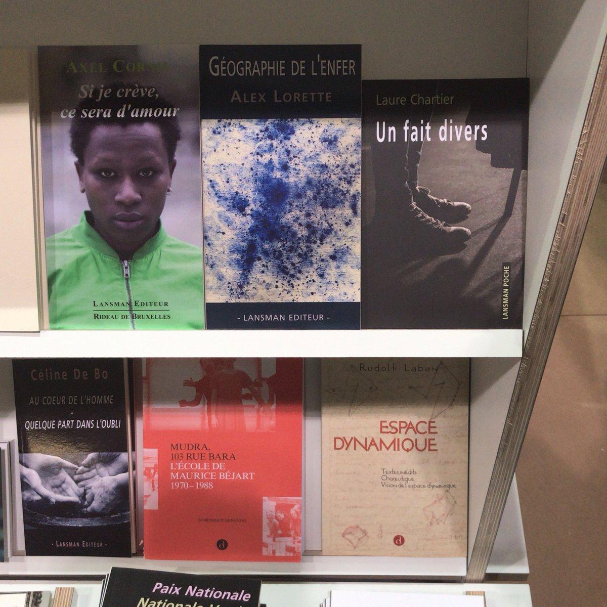 «Un fait divers» de Laure Chartier publié chez Lansman @INFOTHEATRE est à découvrir sur le stand de la Fédération Wallonie-Bruxelles à la @foirelivrebxl parmi d'autres jeunes auteur.trice.s ! #FLB19