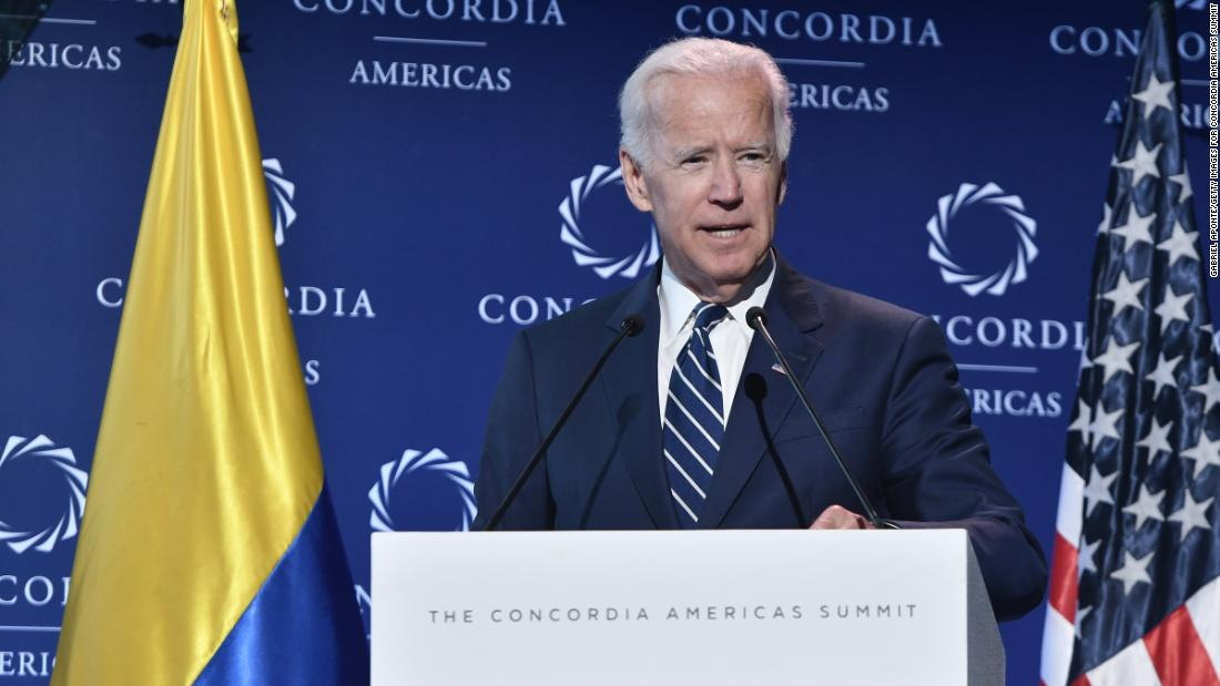 Former Vice President Joe Biden to showcase foreign policy credentials with 2020 decision looming https://cnn.it/2DLO52G