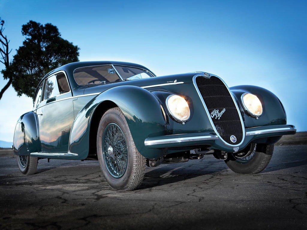 Alfa Romeo 6C Sport Berlinetta by Touring <br>http://pic.twitter.com/w8IuBt5J9D