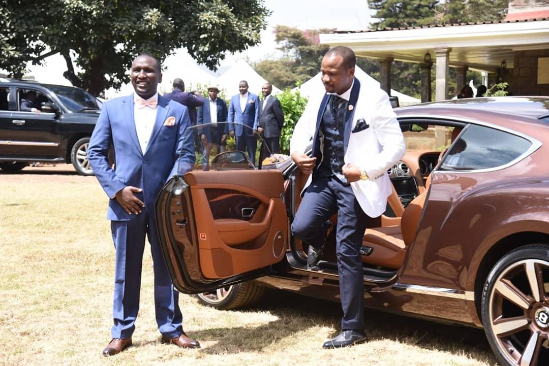 Congratulations Langata MP Hon. @nixon_korir on your wedding. Wishing you God's blessings.