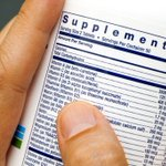 Image for the Tweet beginning: What's in your supplements?