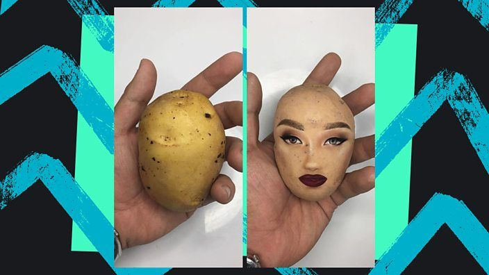 💄 Why is there a craze for putting make-up on a potato?Make-up artists from across the world are getting creative https://t.co/JdXY7OhV0l