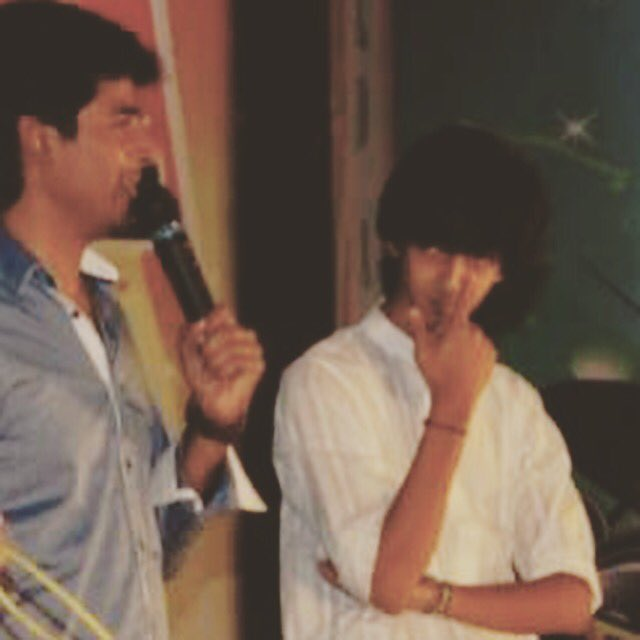 When he was the compere and I was playing the keyboard at a college fest one decade ago.. Little did we know 😃 @Siva_Kartikeyan