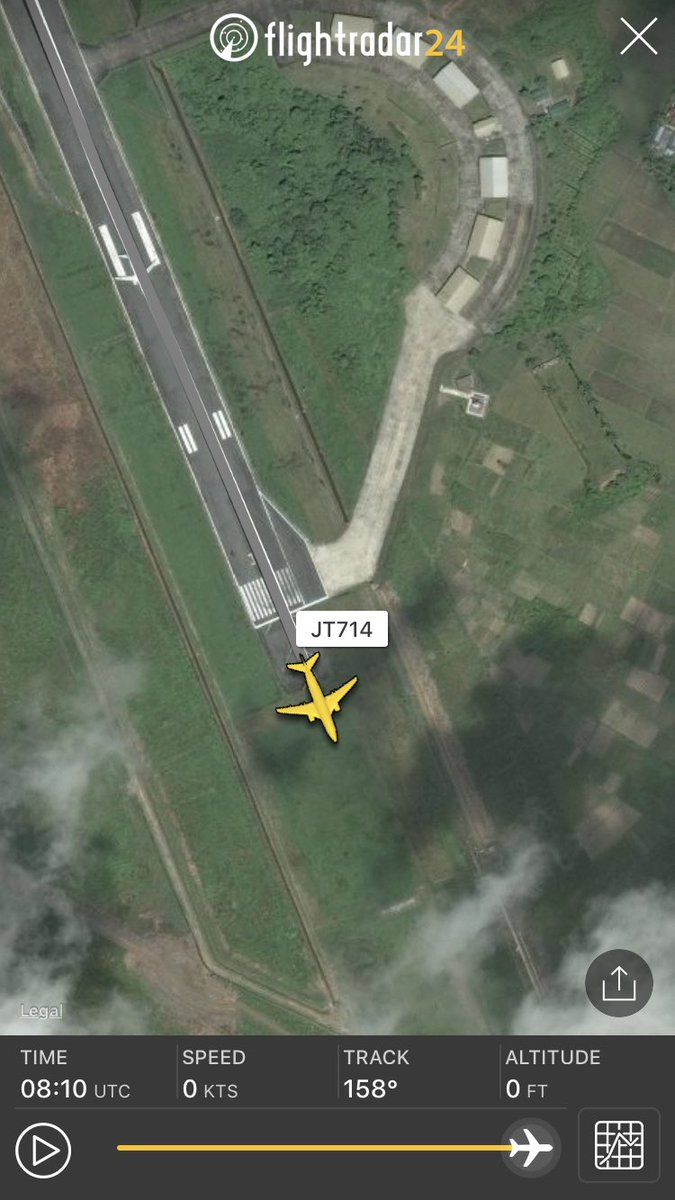 Flightradar24 On Twitter Data From Jt714 From Jakarta To Pontianak Which Experienced A Runway Excursion On Landing Https T Co Ntkz2a6lzz Https T Co 5x466rxhex