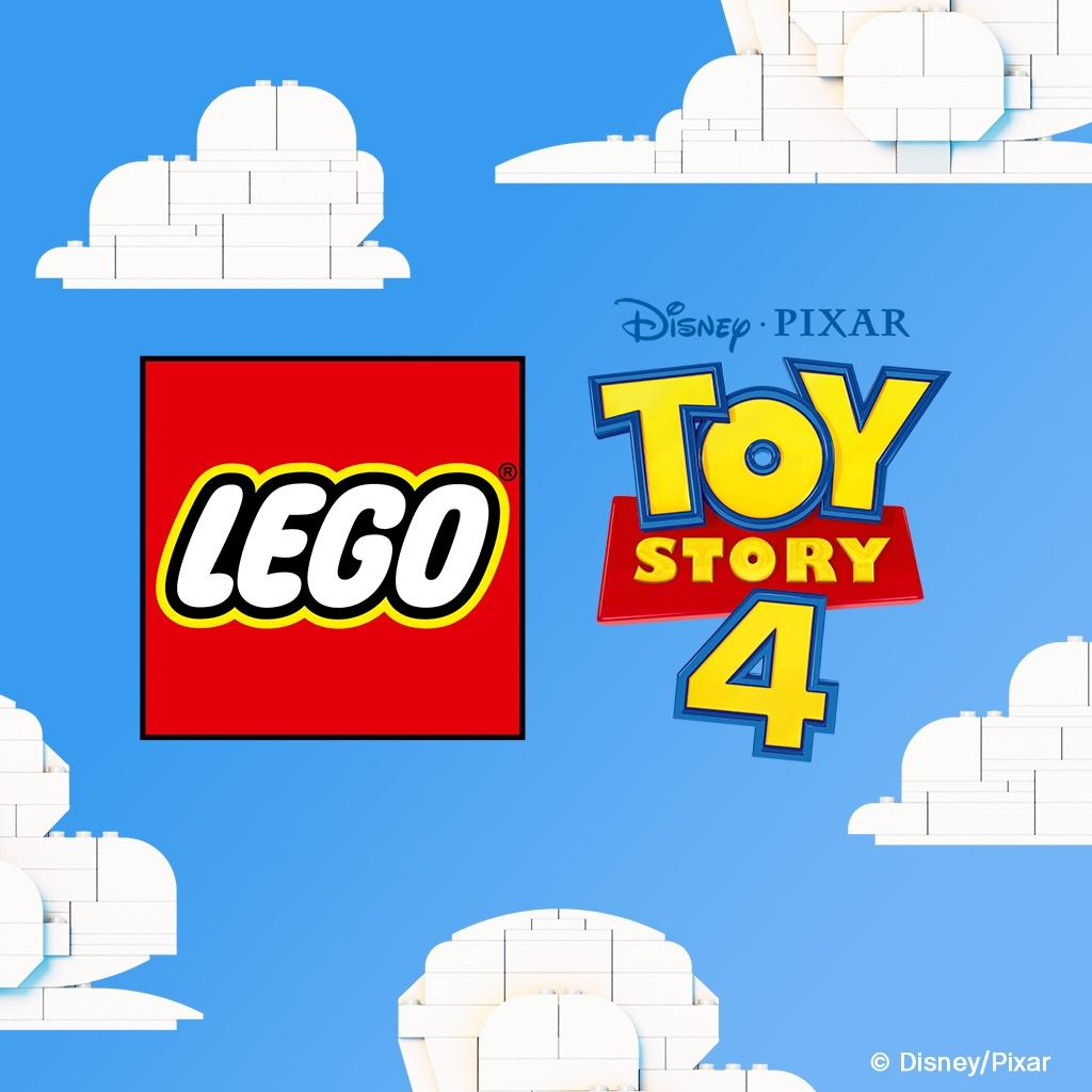 We're not toying with you. 😉 LEGO @ToyStory 4 sets coming soon. 👏 #ToyStory4 @DisneyPixar