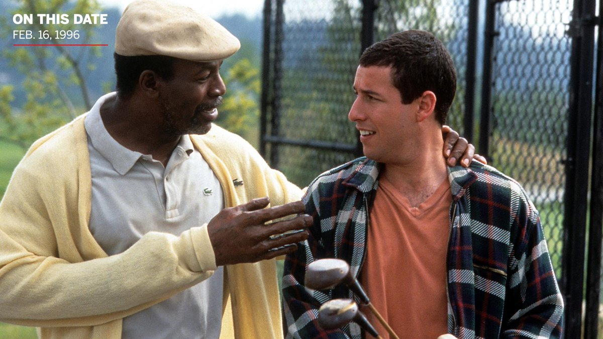 On This Date: In 1996, Happy Gilmore defeated Shooter McGavin to win the Tour Championship in honor of Chubbs Peterson.