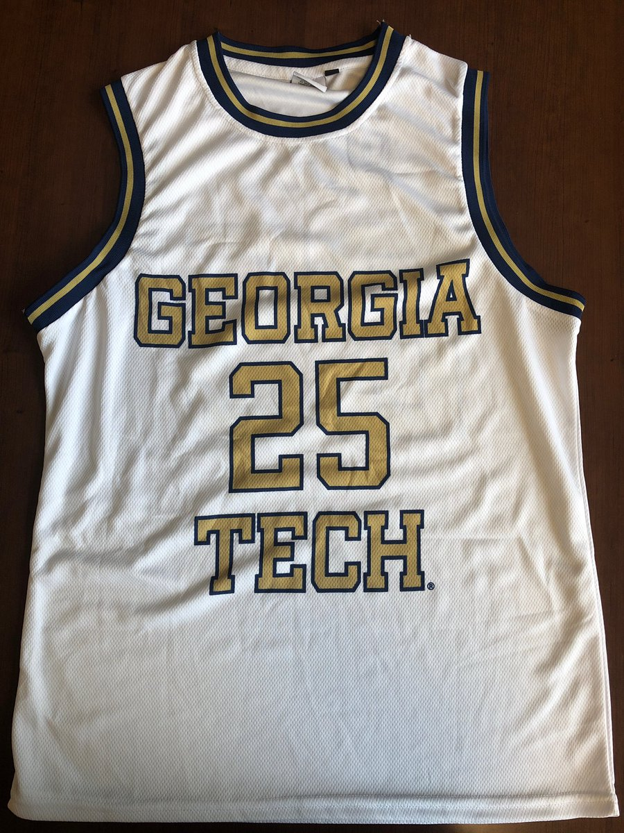 First 1,000 fans at today's @GTMBB game get this free @Mark25Price replica jersey! 🔥 🐝🔥  Doors open at 1:00pm. Mark will be on-hand for autographs from 1-1:45pm. #TogetherWeSwarm