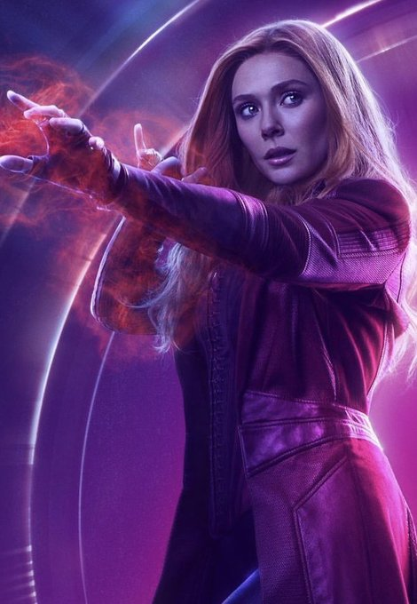 Happy Birthday to Scarlet Witch herself Elizabeth Olsen ~