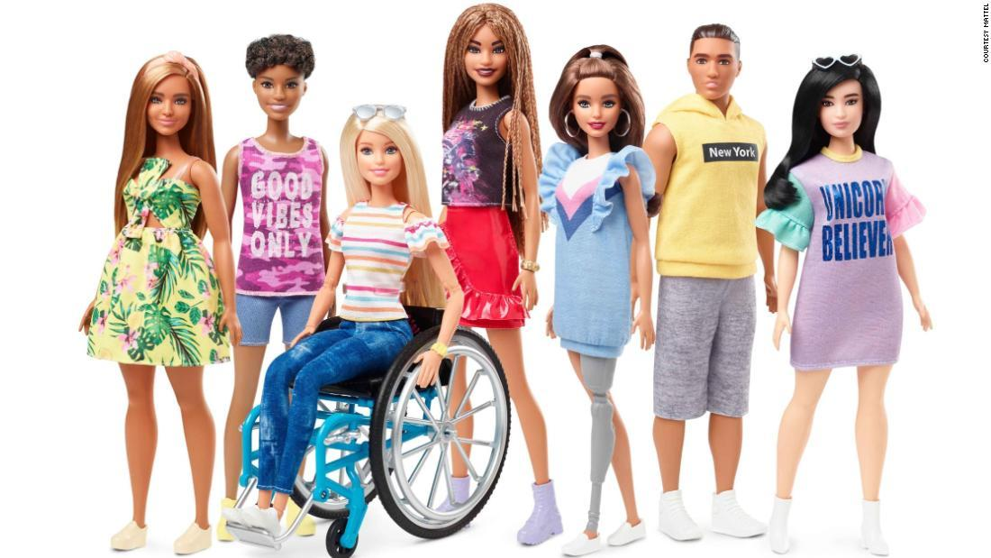 Barbie will debut a doll with a prosthetic leg, and another that comes with a wheelchair, in June https://cnn.it/2DHIJWe