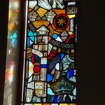 Image for the Tweet beginning: Beautiful abstract stained glass in
