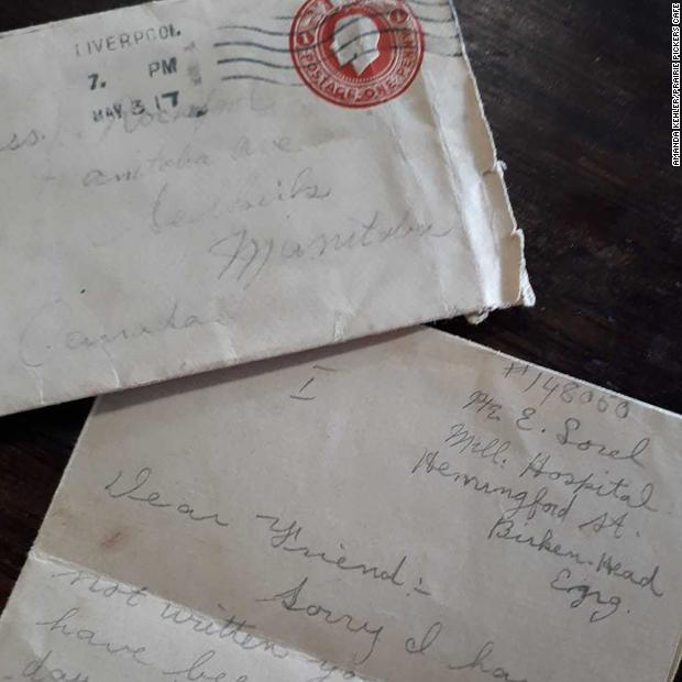 A Canadian antique dealer found a letter written by a World War I soldier almost 102 years ago in a bunch of old papers she had bought for a dollar https://cnn.it/2SEFwBf