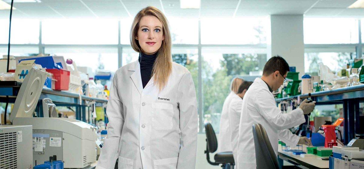 امرأة ، شابة، جميلة، مع ادعاء علمي: كيف خدعت اليزابيث هولمز ذات ال ١٩ سنة أمريكا والمجتمع العلمي لمدة ١١ سنة وكونت ثروة بالمليارات: