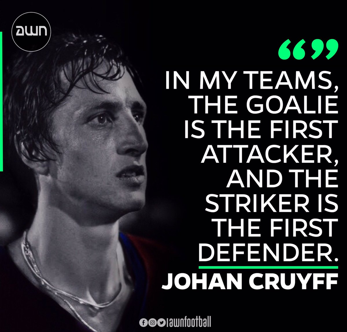 @JohanCruyff ❤️ . #fcbarcelona #barcelonafans #barcelona🇪🇸 #barcelona #goal #fcbarcelonafans #fcbayern #realmadrid #messico #messi10 #messigoal #terstegen #messi #messifans #sports #viscaelbarça #coutinho #adidas #nike #footballquotes #soccermemes #footballmemes #campnou