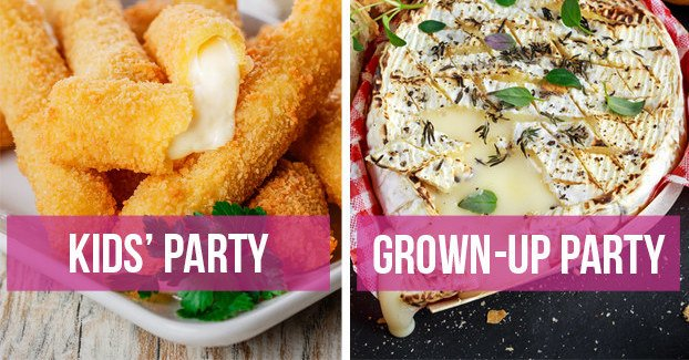 Would You Rather: Kids Party #food Vs. Adult Party #food Edition. #foodrevolution https://bzfd.it/2Lz1IWJ