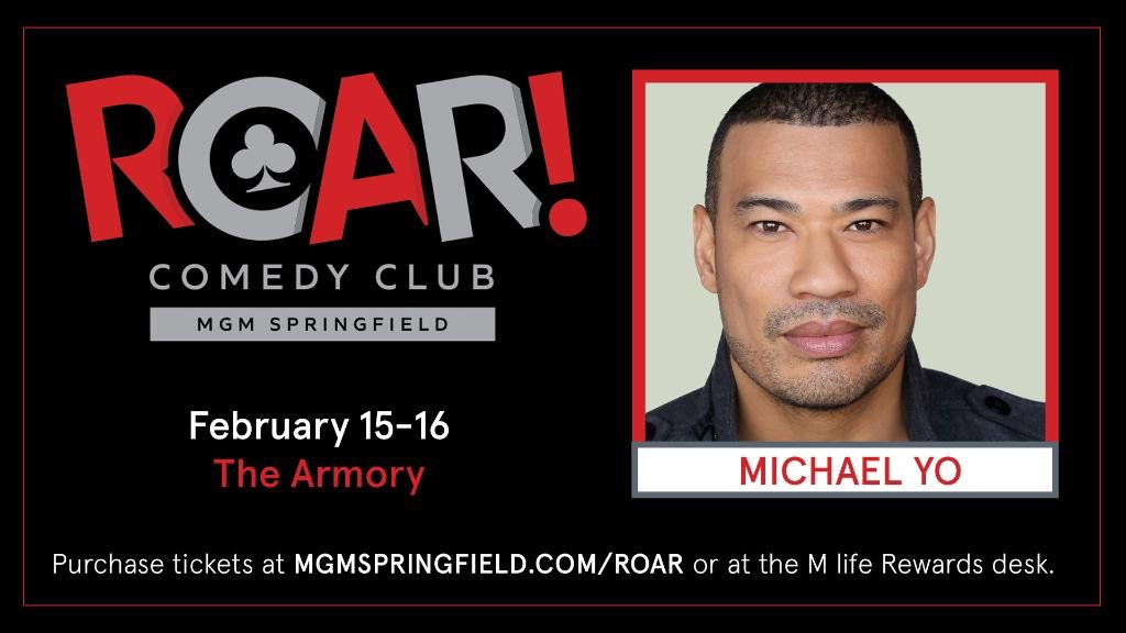 BLASIAN TOUR #SPRINGFIELD #MA 2 more shows tonight @MGMSpringfield First show 7:15p almost sold out, get them before they are gone. Can't wait to see ya, LET'S GO!!! http://michaelyo.com  #comedy #comedian #standupcomedy #blasian #yoblasian #yofamily #familyfirst