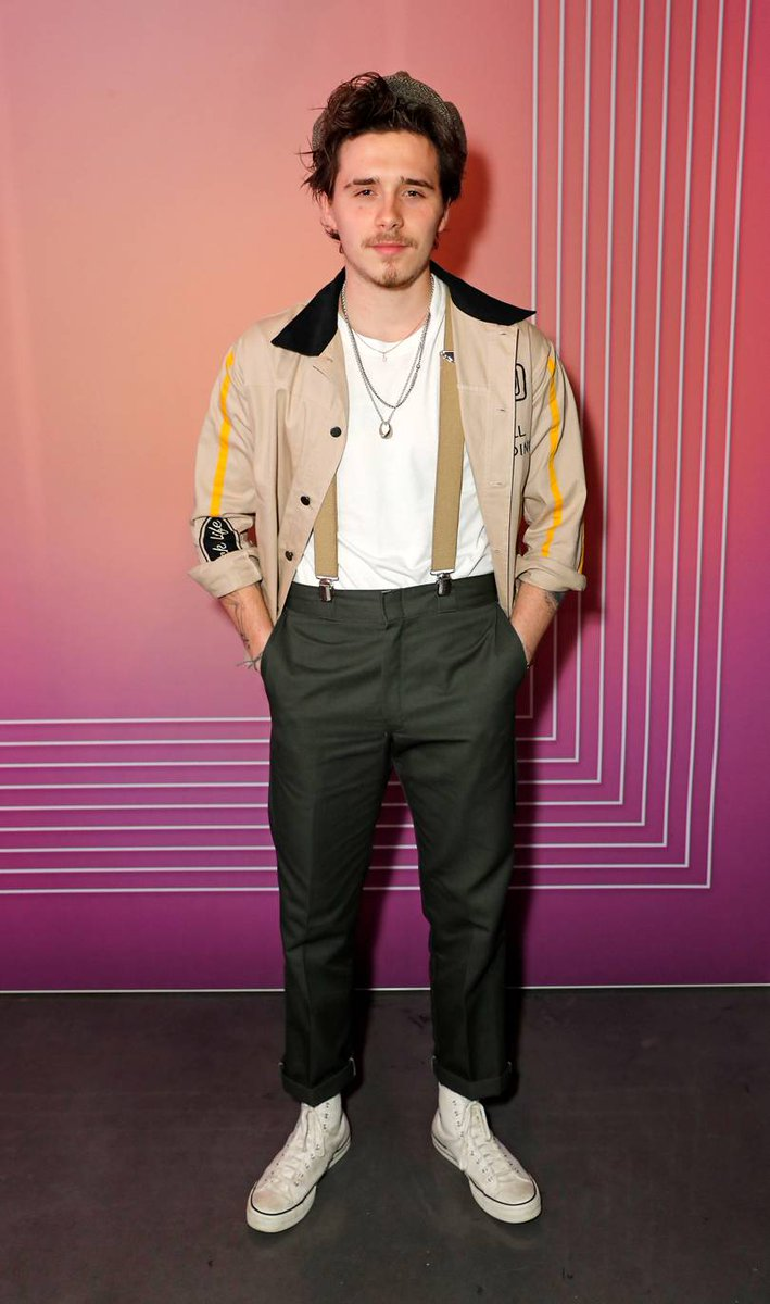 Brooklyn Beckham and Maya Jama attend the Christian Louboutin x Wonderland LFW party. All on Bystander:  https://t.co/T9bWY6hmlW